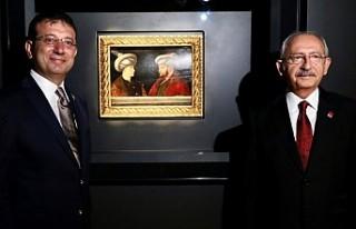 Kılıçdaroğlu, Fatih'in Portresinin Gösteriminde