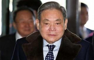 Samsung Yönetim Kurulu Başkanı Lee yaşamını...