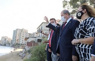 Tatar, Maraş'ın Açılan Kısmını Ziyaret...