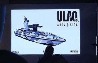 Türkiye'nin ilk silahlı insansız deniz aracı...