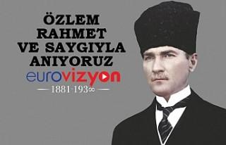 Atatürk Ebediyete İntikalinin 82. Yılında Törenlerle...