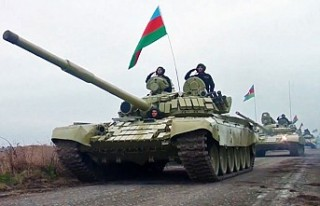 Azerbaycan Ordusu 27 Yıl Sonra Ağdam'a Bayrak...