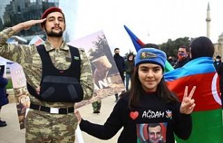 Azerbaycanlılar, Ağdam'ın İşgalden Kurtuluşunu...