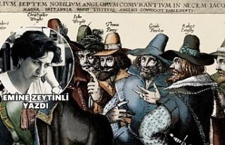 Bir kuruş lütfen! Guy  Fawkes için!