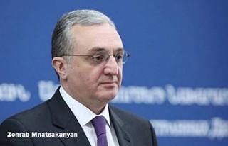 Ermenistan Dışişleri Bakanı Zohrab Mnatsakanyan...