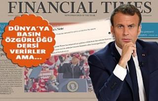 Financial Times, Macron'u Eleştiren Yazıyı...