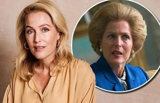Gillian Anderson, 'Margaret Thatcher' Deneyimini...