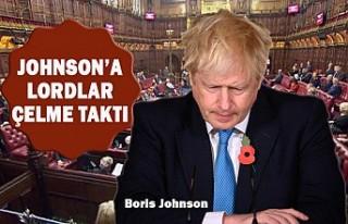 İngiltere'de Hükümet Lordlar Kamarası'nda...