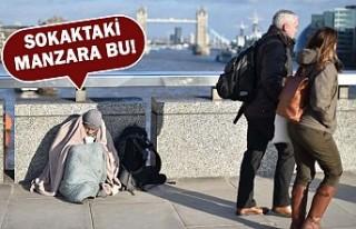 İngiltere'de On Binlerce İnsan Evsiz Kaldı