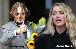 Johnny Depp'in, Açtığı İftira Davasında...