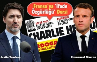 Justin Trudeau'dan 'Charlie Hebdo'...