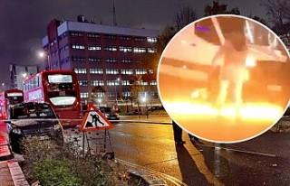 Londra Polisi'nden Son Dakika Karakol Saldırı...