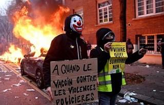 Fransa'nın Kalbine Ateş Düştü!
