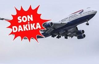 İngiltere -Türkiye Uçak Seferleri Durduruldu!