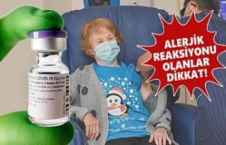İngiltere'den Aşı İçin Alerji Uyarısı!