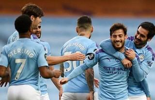 Manchester City, İlkay Gündoğan'ın Gol Attığı...