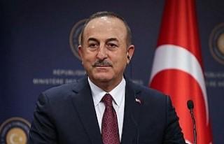 Dışişleri Bakanı Çavuşoğlu: Kıbrıs'ta...