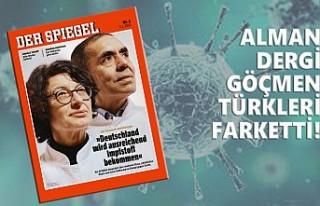 Özlem Türeci ve Uğur Şahin, Der Spiegel'e Kapak...