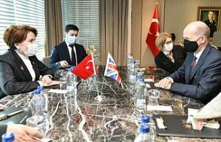 Akşener, İngiltere'nin Ankara Büyükelçisi...