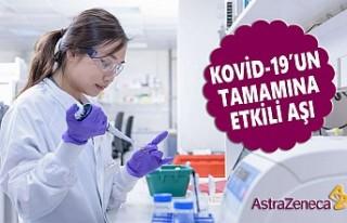 AstraZeneca, Virüsün Türleri İçin Etkili Aşıya...