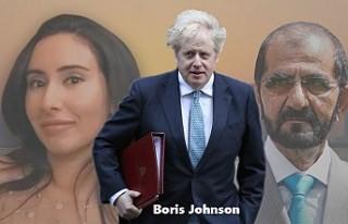 Boris Johnson'dan, 'Rehin Prenses'...