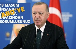 """Erdoğan'dan ABD'ye Sert """"Terörü Destekleme""""..."""