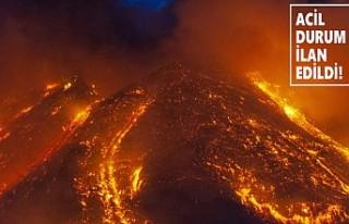 Etna Alev Saçıyor: Uçak Seferleri Durdu!