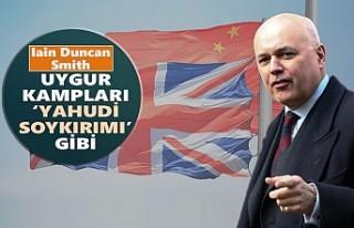 """İngiliz Hükümetine """"Çin'le Ticaret Anlaşması..."""