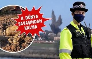 İngiltere'de Bulunan Patlamamış Bomba Şehri...
