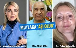 İngiltere'deki Türk Doktorlardan 'Aşı Yaptırın'...