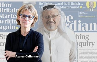 Cemal Kaşıkçı Raportörü Callamard'a Ölüm...