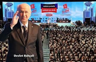 Devlet Bahçeli, MHP Genel Başkanlığına Yeniden...