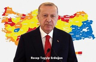"""Erdoğan, Kovid-19'la Mücadelede """"Kontrollü..."""