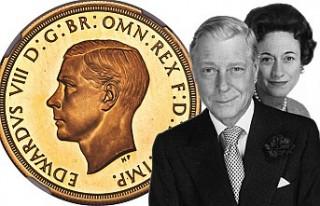 İngiltere Kralı VIII. Edward İçin Basılan Paraya...