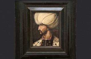 Kanuni Sultan Süleyman'ın Portresi Londra'da...