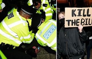 Londra'da 'Sarah Everard Protestosu'nda...