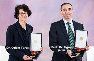 Prof. Dr. Uğur Şahin Ve Dr. Özlem Türeci'ye...