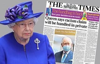 The Times'tan Şok İddia: Kraliçe O Açıklamayı...