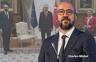 AB Konseyi Başkanı Michel'den, Türkiye Ziyaretindeki...