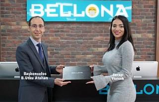 Başkonsolos Atahan, Londra Bellona'yı Ziyaret...