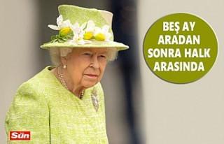 Kraliçe, İkinci Aşıdan Sonra Maskesiz Sokakta