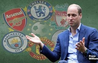 Prens William, 'Avrupa Süper Ligi' Endişesini...