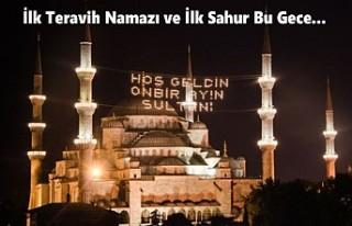 Ramazan Başlıyor, İlk Oruç Yarın