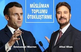 İngiliz Parlamenter'den Macron'a 'İslamofobi'...