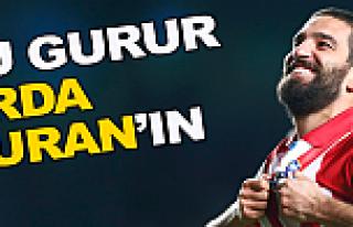 Arda Turan, Atletico Madrid'in beyni oldu