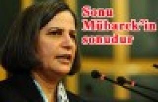 BDP'li Kışanak, Erdoğan'ı alenen tehdit etti