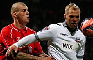 Bolton galibiyeti Liverpool'a tur atlattı