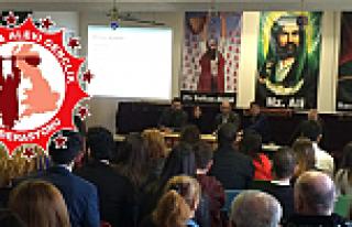 Britanya Alevi Gençlik Federasyonu Kongresini yaptı