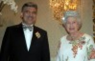 Cumhurbaşkanı Gül, Kraliçe'nin davetlisi