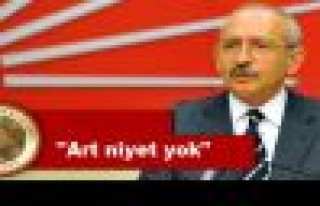 Danıştay'dan Kılıçdaroğlu'na cevap